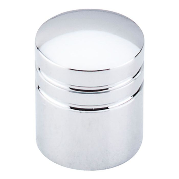 "Stacked Knob 1"" Diameter Polished Chrome"