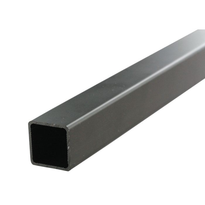 "1-1/2"" Black Anodized Heavy Duty Aluminum Tubing 8' Length"