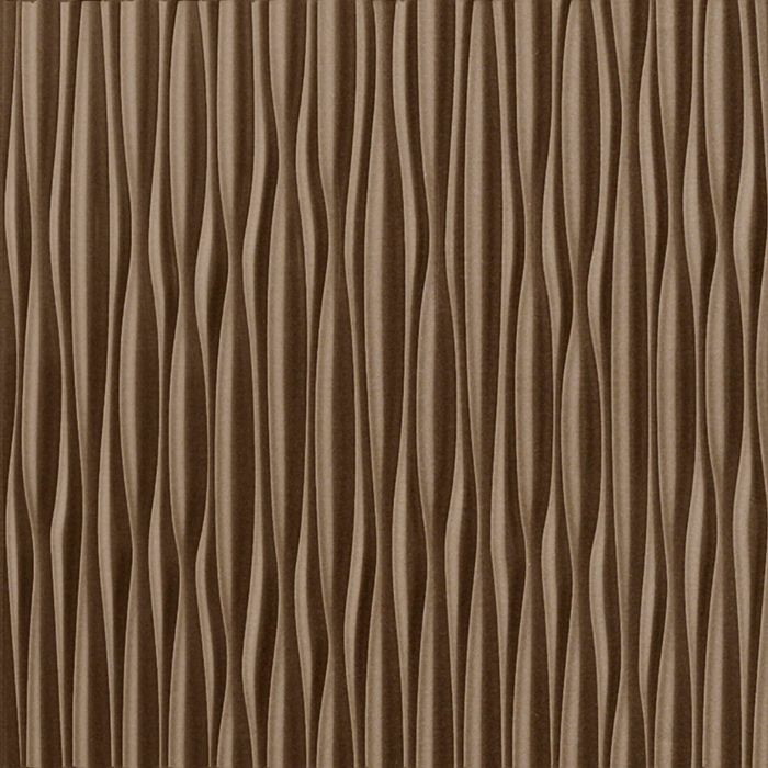 FlexLam 3D Wall Panel | 4ft W x 10ft H | Sahara Pattern | Argent Bronze Vertical Finish