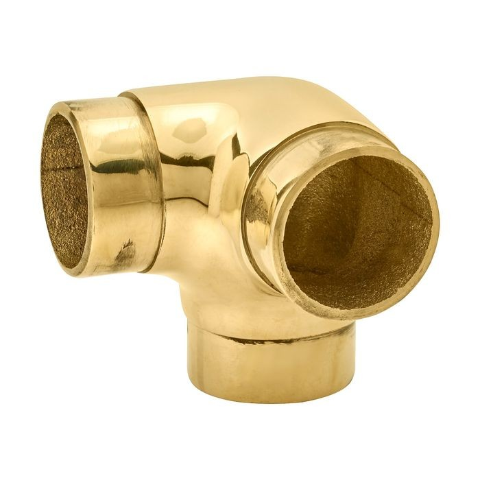 1-1/2in Dia x 2in W x 2in H | Polished Brass Finish | Flush Fitting