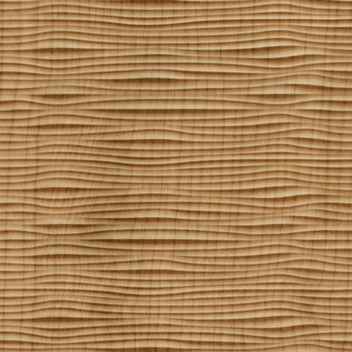 FlexLam 3D Wall Panel | 4ft W x 10ft H | Gobi Pattern | Oregon Ash Finish