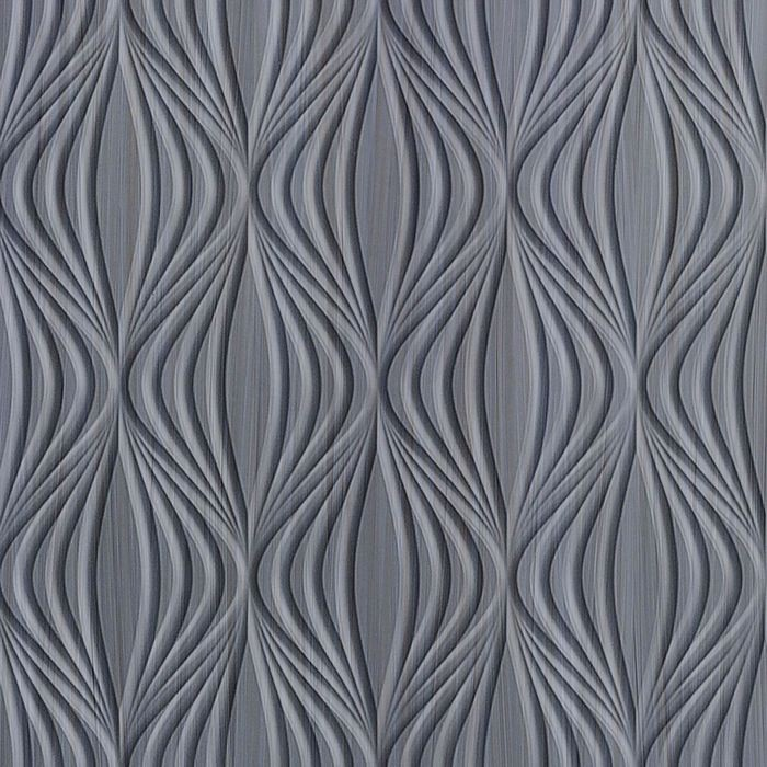 10' Wide x 4' Long Shallot Pattern Steel Strata Finish Thermoplastic Flexlam Wall Panel