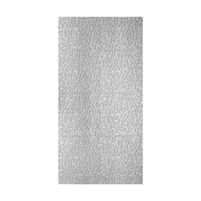 10' Wide x 4' Long Beehive Pattern Oil Rubbed Bronze Finish Thermoplastic Flexlam Wall Panel