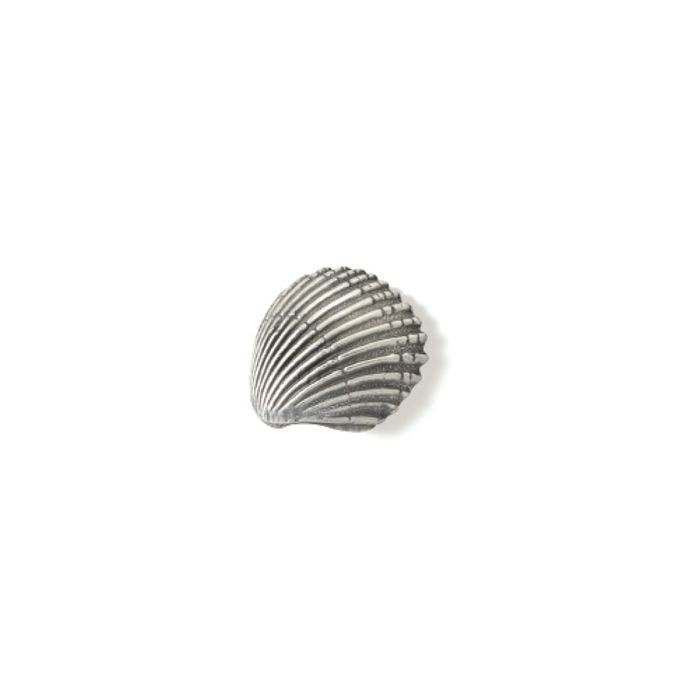 Ocean Line Antique Pewter Scallop Shell Knob