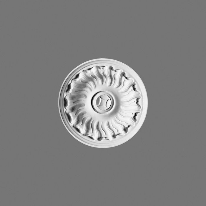 Orac Decor | High Density Polyurethane Ceiling Medallion | Primed White | 7-1/2in Dia
