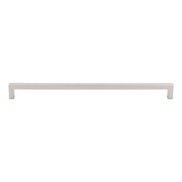 "Square Bar Pull 12 5/8"" C/C Polished Nickel"