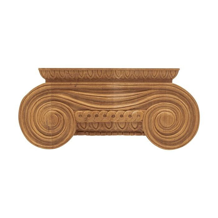 10-3/8in W x 4-5/8in H | Solid Cherry Royal Wood Collection Large Capital | RWC116 Series
