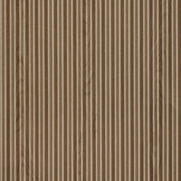 FlexLam 3D Wall Panel | 4ft W x 10ft H | Ridges Pattern | Washed Oak Finish