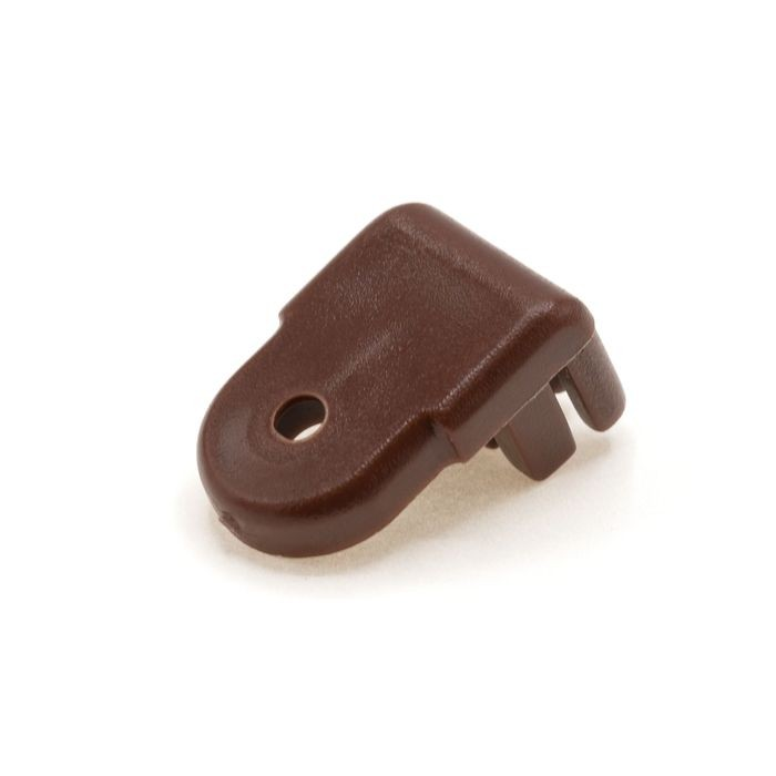 1/4in Brown | Tapered Pad Panel and Glass Retaining Button