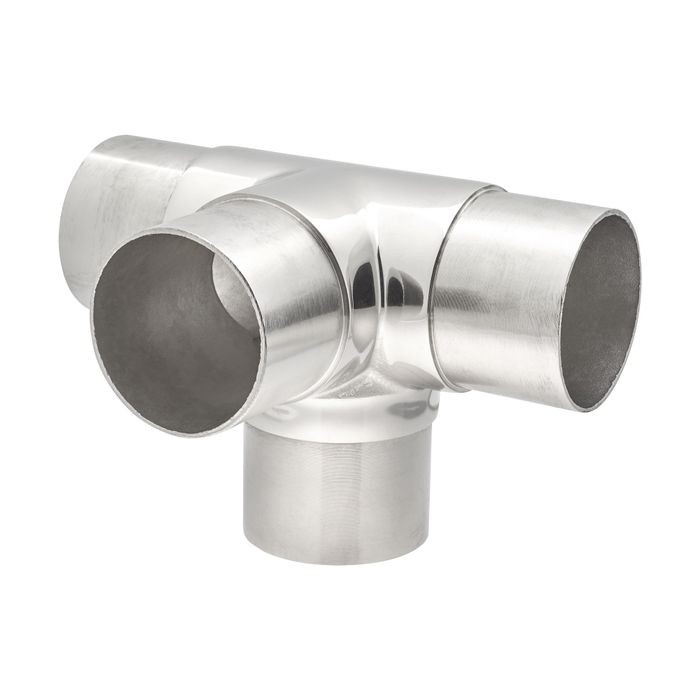 2-1/2in H x 3in W x 3in H | Polished Stainless Steel Finish | Flush Fitting
