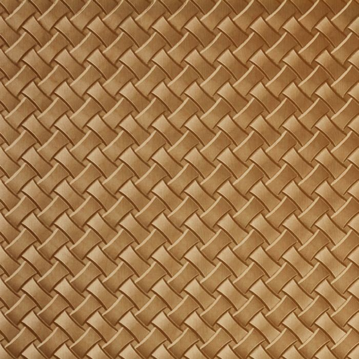 10' Wide x 4' Long Celtic Weave Pattern Light Maple Finish Thermoplastic Flexlam Wall Panel