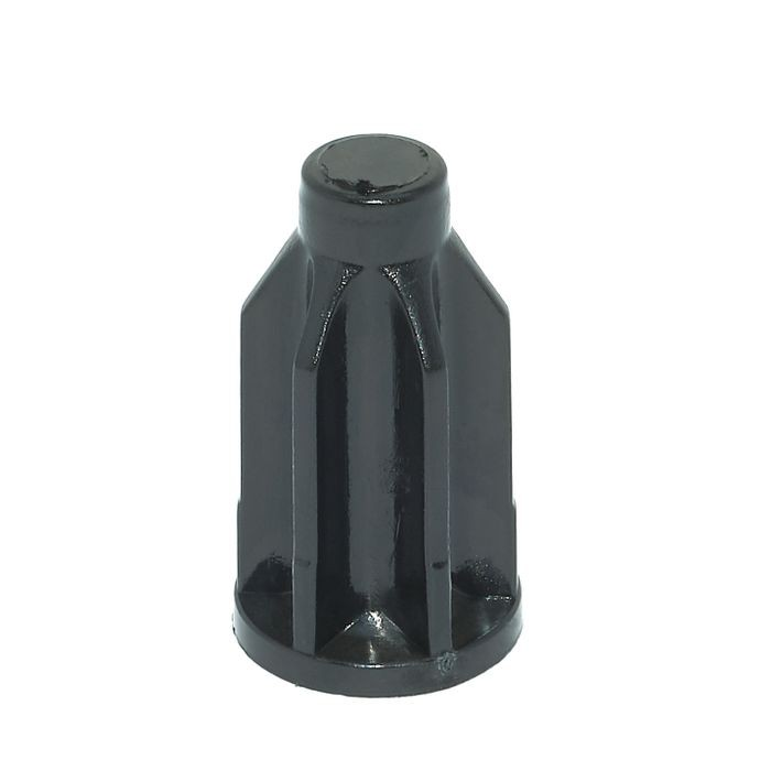 1in x 20 Gauge | Round Plastic Socket for 5/16 Stem