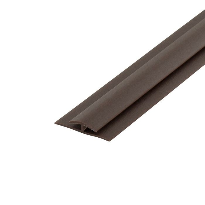 1/16in Brown Styrene | Divider Moulding | 8ft Length