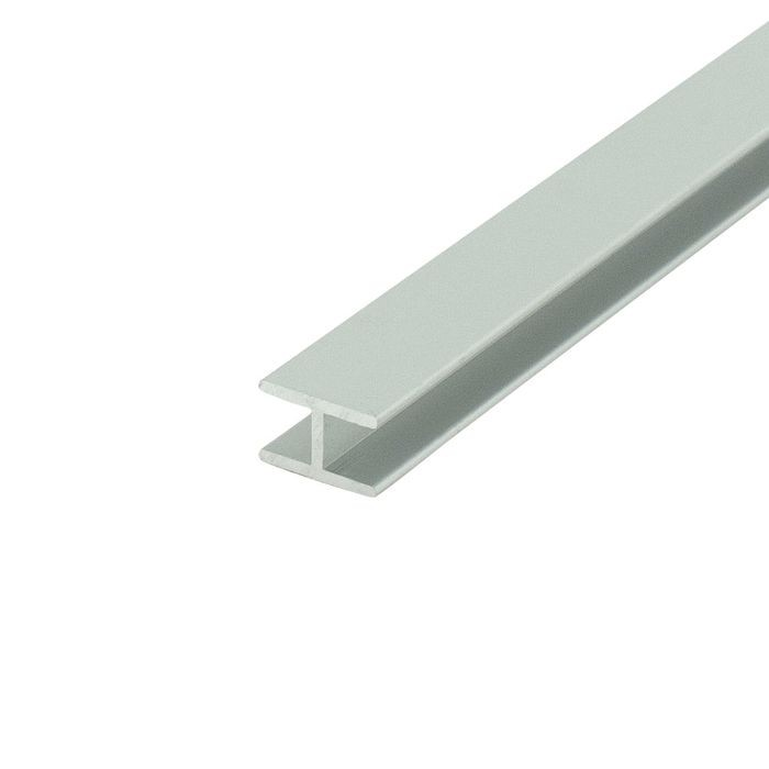 1/4in Clear Anodized (Satin) Finish | Aluminum Divider Moulding | 12ft Length