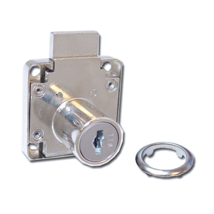 "1-1/2"" Square Drawer Lock for Wooden Doors"