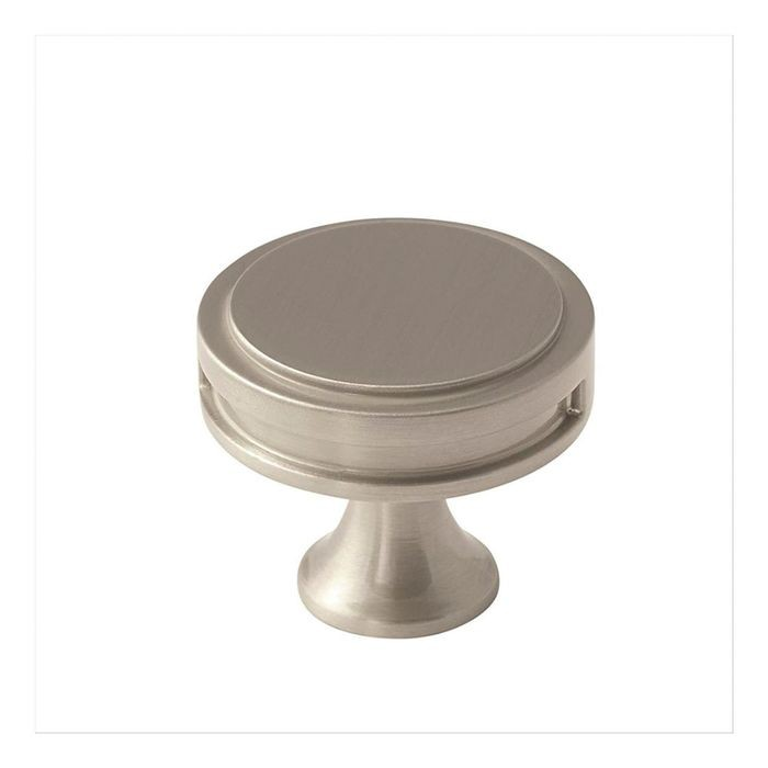 "1 3/8"" Diameter Knob Satin Nickel"