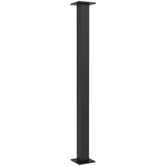 1/4in Thick | Orleans Style | Steel Table Leg