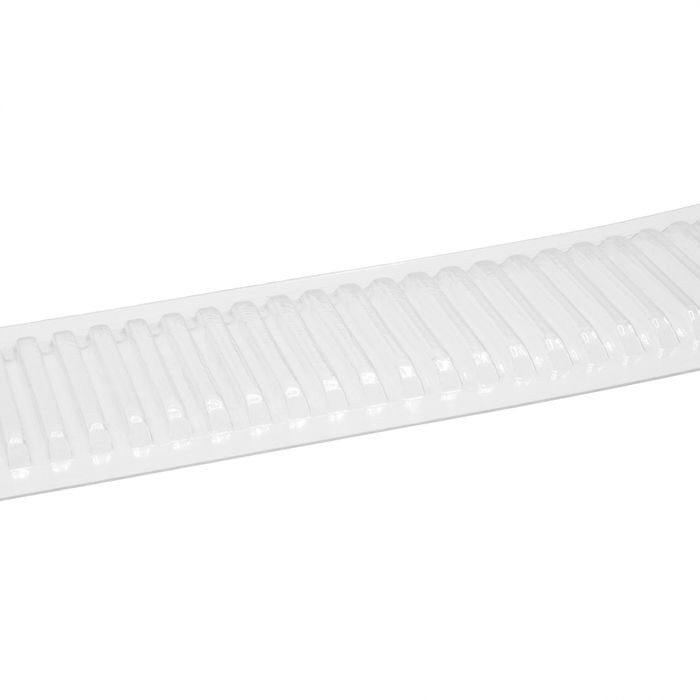 60in Clear | Standard Binning Strip for 1/8in Divider