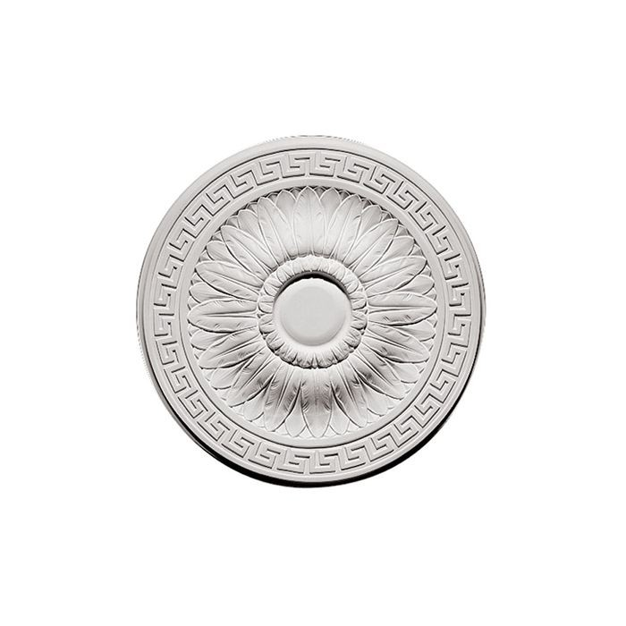 Focal Point | 20-1/4in Dia | Primed White Polyurethane | Decorative Ceiling Medallion