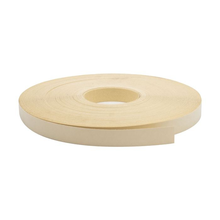 "1-1/4"" Wide Almond Pre-Glued Iron On Tape 250' Coil"