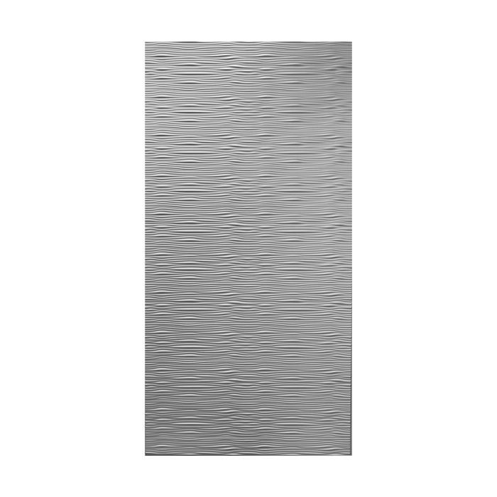 10' Wide x 4' Long Gobi Pattern Winter White Finish Thermoplastic Flexlam Wall Panel