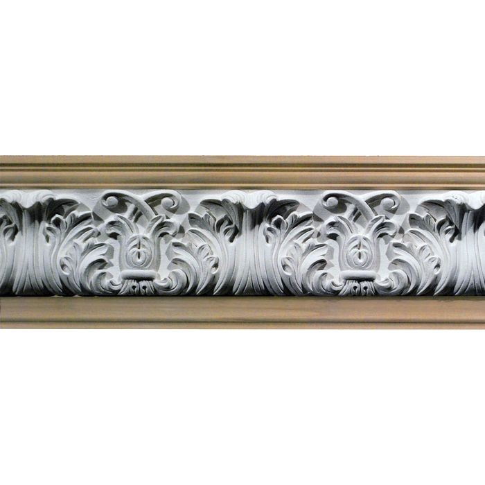 1in Proj | Unfinished Polymer Resin | Frieze Moulding | 5ft Long | Style 42-40C
