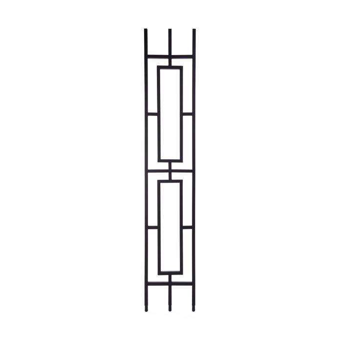 Modern Powder Coated Baluster | Hollow | Rectangles | 1/2in Sq x 44in H | PCB-SPN2 Series