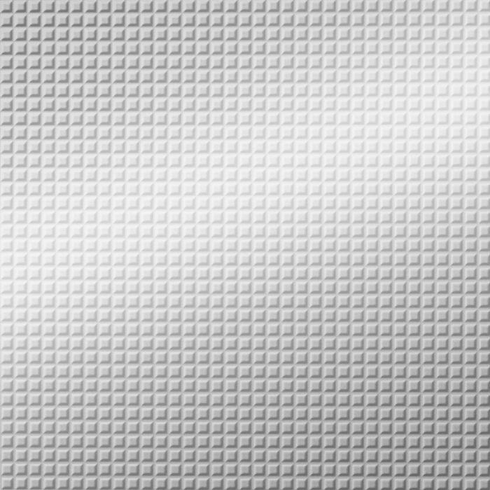 10' Wide x 4' Long Square 5 Pattern Mirror Finish Thermoplastic Flexlam Wall Panel