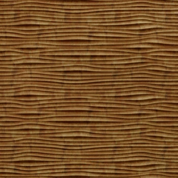 FlexLam 3D Wall Panel | 4ft W x 10ft H | Gobi Pattern | Muted Gold Finish