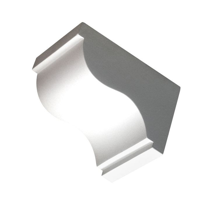 "5-1/2"" Wide x 5-3/8"" High Primed White Polyurethane Dentil Block"
