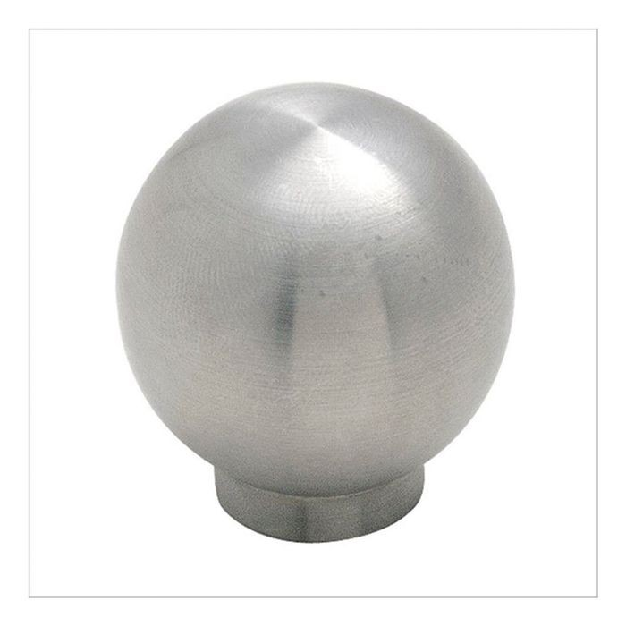 "1 3/16""  Diameter Knob Stainless Steel"