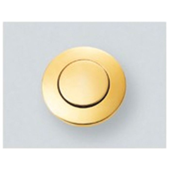 Gold Zinc Alloy and ABS Round Push Knob Latch