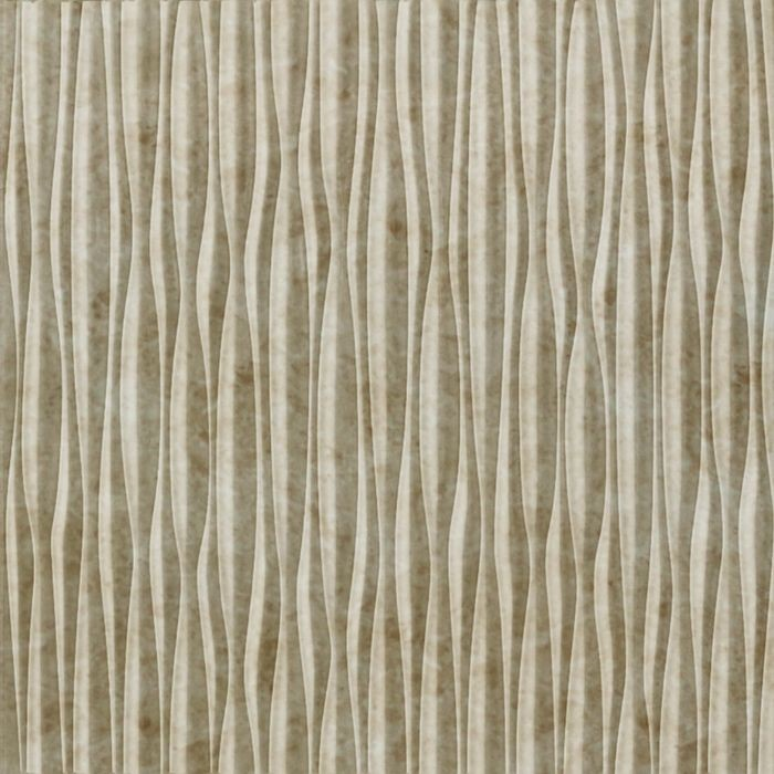 10' Wide x 4' Long Sahara Pattern Travertine Vertical Finish Thermoplastic Flexlam Wall Panel