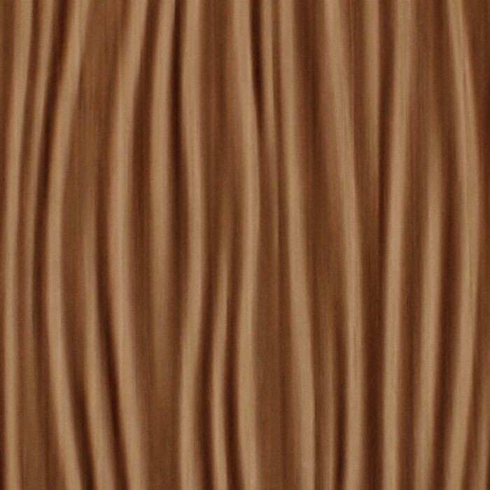 10' Wide x 4' Long Kalahari Pattern Pearwood Finish Thermoplastic Flexlam Wall Panel