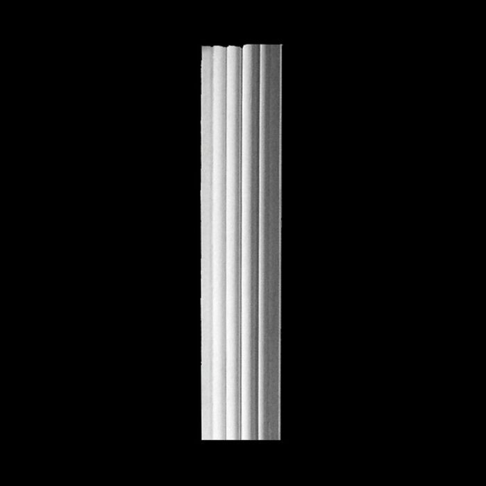 "10' High x 5-1/2"" Wide x 1-1/2"" Deep Resin Column"
