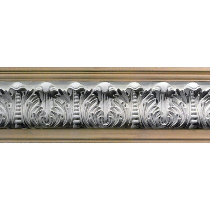 1in Proj | Unfinished Polymer Resin | Frieze Moulding | 5ft Long | Style 42-40A