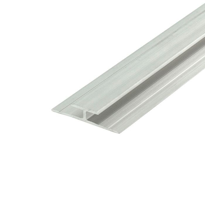 1/8in to 5/32in Mill Finish | Aluminum Divider Moulding | 12ft Length