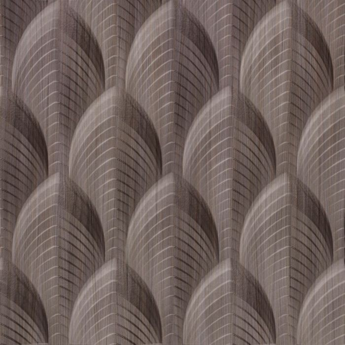 10' Wide x 4' Long South Beach Pattern Bronze Strata Finish Thermoplastic Flexlam Wall Panel