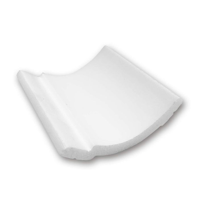 Orac Decor | Durofoam Crown Moulding | Primed White | Face 4in Sample Piece | CB525 Series