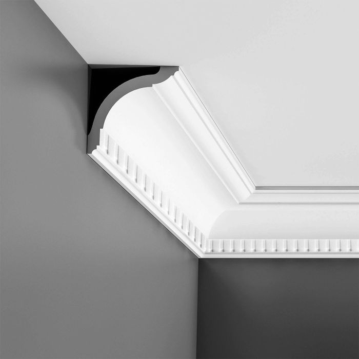 Orac Decor | High Impact Polystyrene Crown Moulding | Primed White | CX129 Series