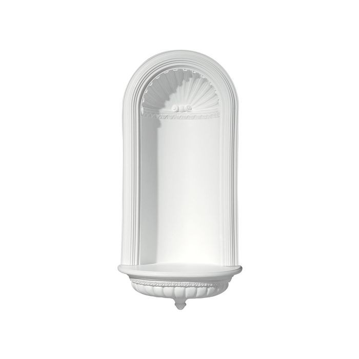 Focal Point | 15-5/8in W x 29-5/8in H | Primed White Polyurethane | Niche