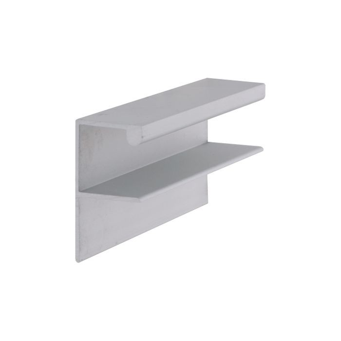 "Satin Finish Drawer Pull With 2 Punched Holes 3 7/8"" L"
