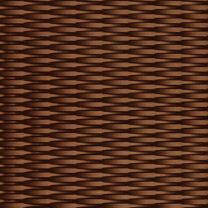 10' Wide x 4' Long Interlink Pattern Linen Chocolate Finish Thermoplastic FlexLam Wall Panel