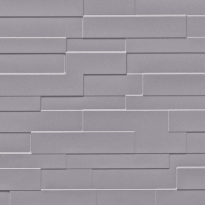 FlexLam 3D Wall Panel | 4ft W x 10ft H | Tetrus Pattern | Lavender Finish
