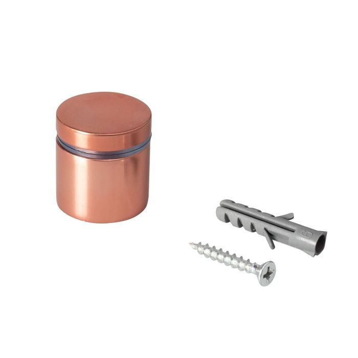 "1"" Diameter x 3/4"" Barrel Length Copper Aluminum Eco Series Easy Fasten Standoff"
