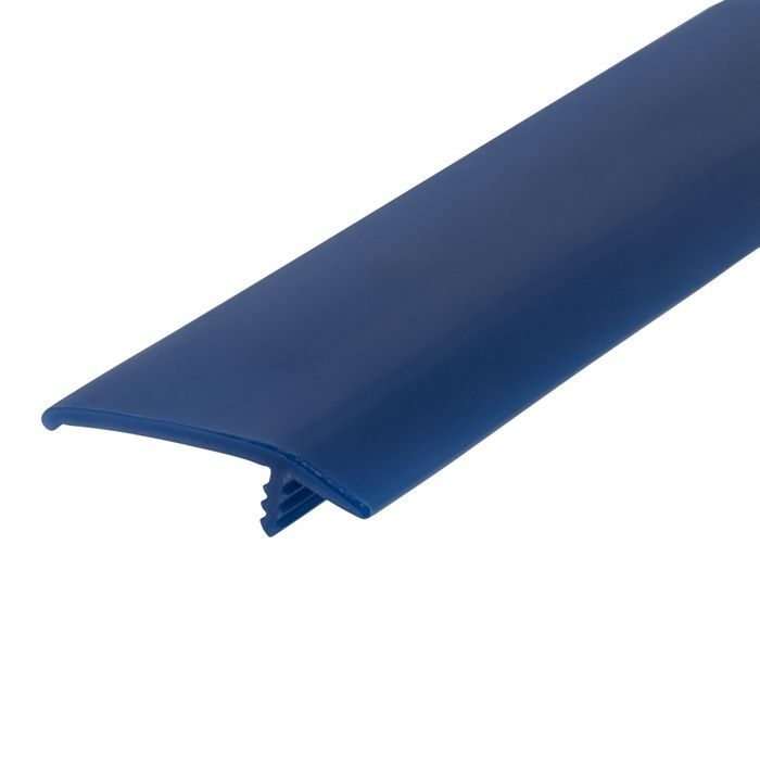 1-1/2in 131 Blue Flexible Polyethylene | OffsetBarb Tee Moulding | 250ft Coil