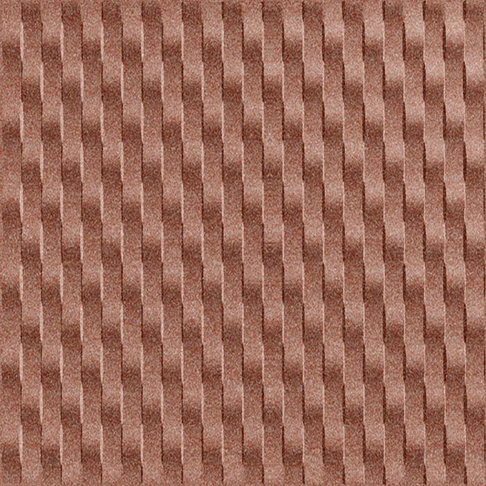 FlexLam 3D Wall Panel | 4ft W x 10ft H | Weave Pattern | Argent Copper Vertical Finish