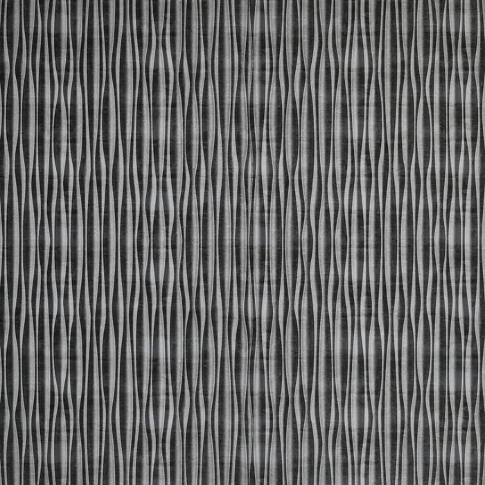 FlexLam 3D Wall Panel | 4ft W x 10ft H | Mojave Pattern | Crosshatch Silver Vertical Finish