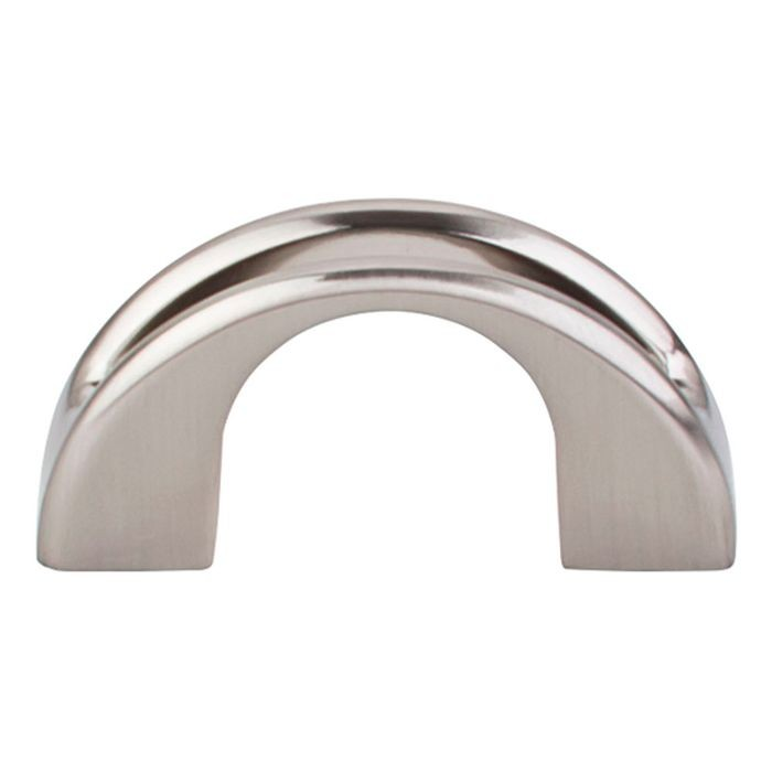 "Tango U Finger Pull 2"" Brushed Satin Nickel"