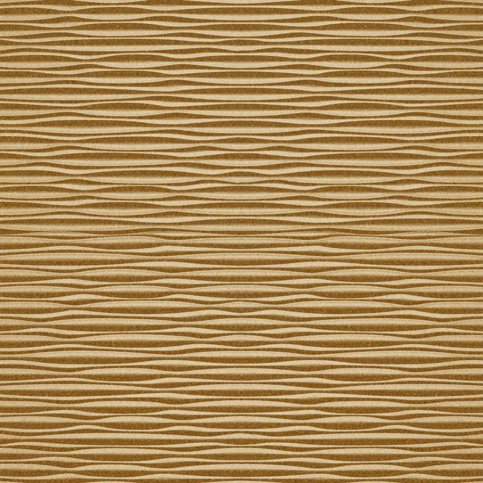 10' Wide x 4' Long Mojave Pattern Argent Gold Finish Thermoplastic FlexLam Wall Panel
